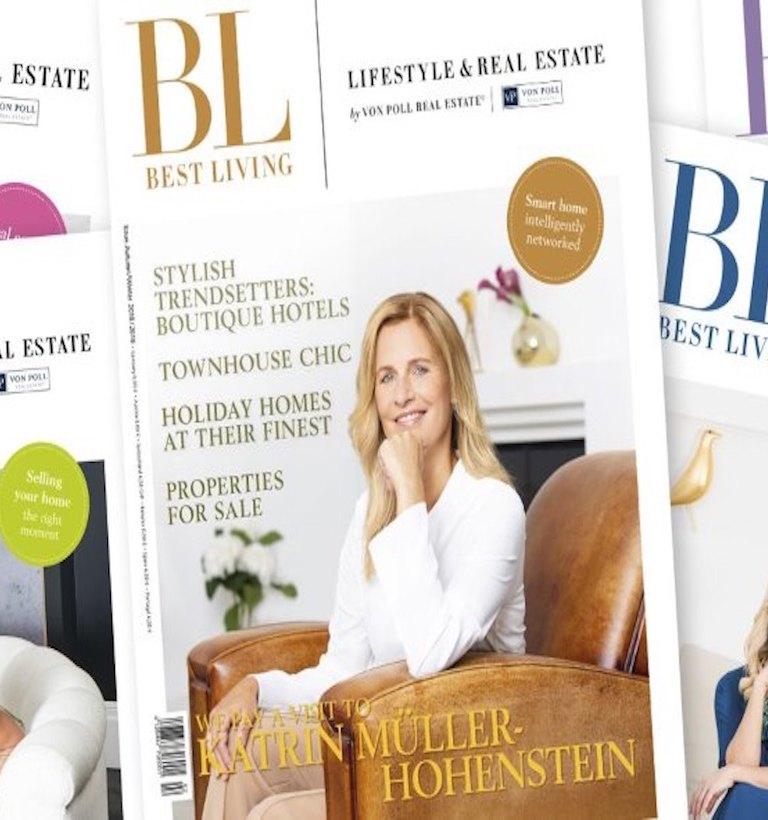 Revista Best Living Maior revista de propriedade e lifestyle da Europa.